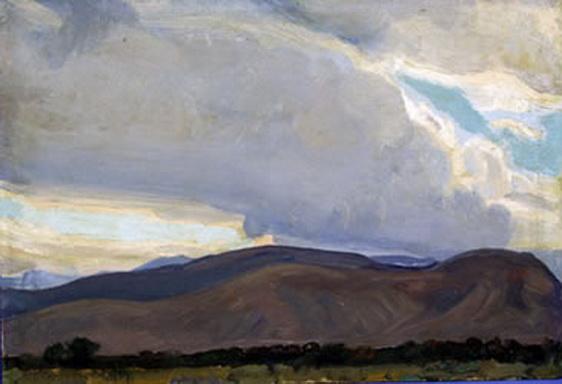 Maynard Dixon - Storm from the Sierra