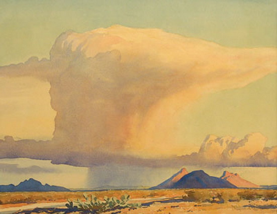 Maynard Dixon - Drought and Downpour