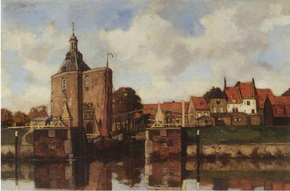 Nicolaas Bastert - Port d'Enkhuizen
