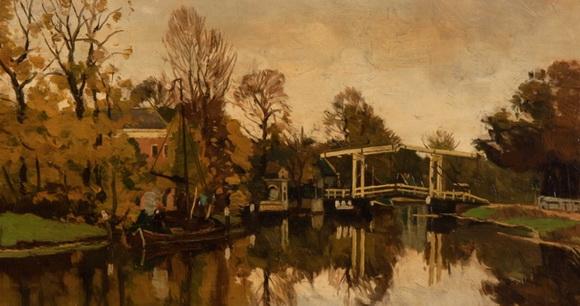 Nicolaas Bastert - Bridge over de Vecht