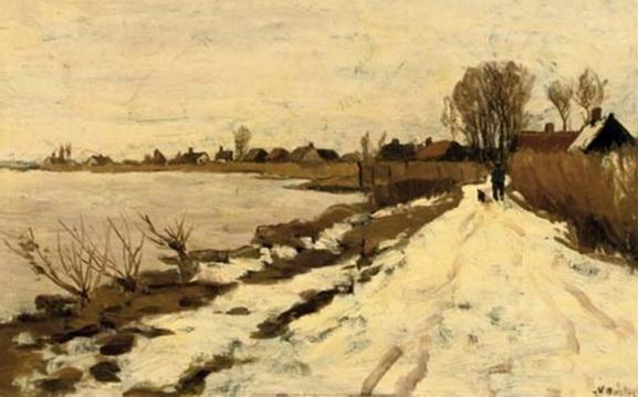 Nicolaas Bastert - Winter - Walking