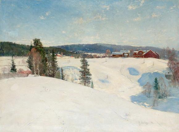 Anton Genberg -Vintermotiv