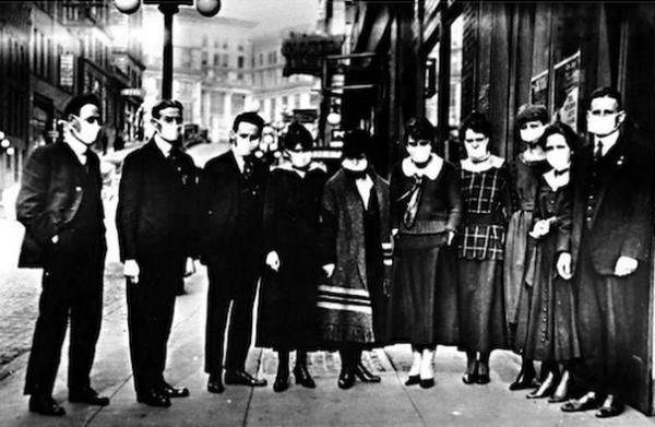 испанка 1919 - 2