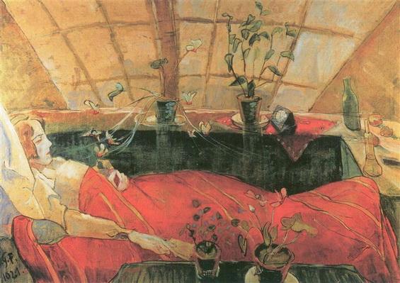 Walter Gramatte - The Convalescent