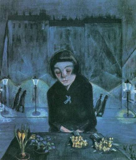 Walter Gramatte - Tired Flower Girl