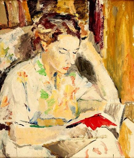 William Frater - Portrait of Merna Watson