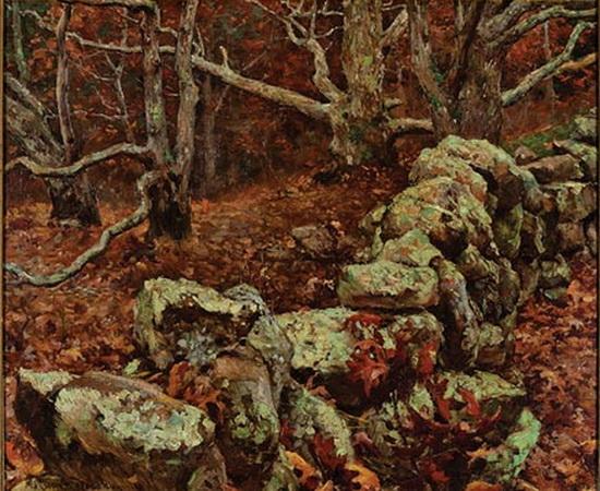 Gaines Ruger Donoho - Autumnal Landscape