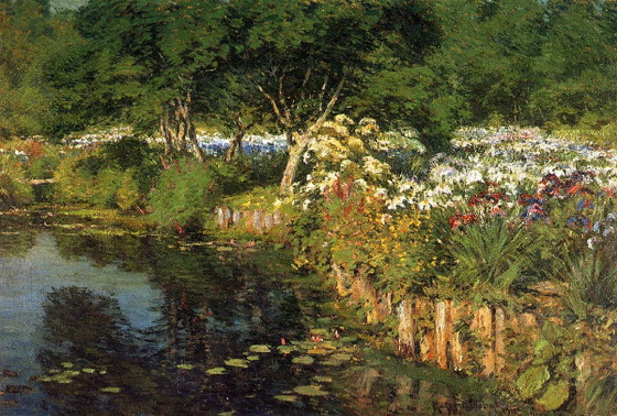 Gaines Ruger Donoho - Woodhouse Water Garden