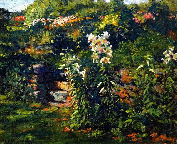 Gaines Ruger Donoho - The Garden Steps