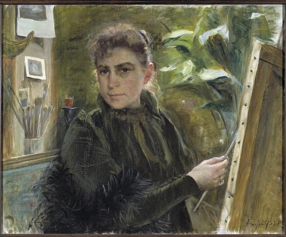 Elisabeth Keyser - Self-Portrait