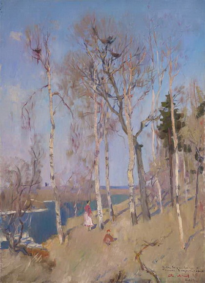 Мыльников -  Ранняя весна