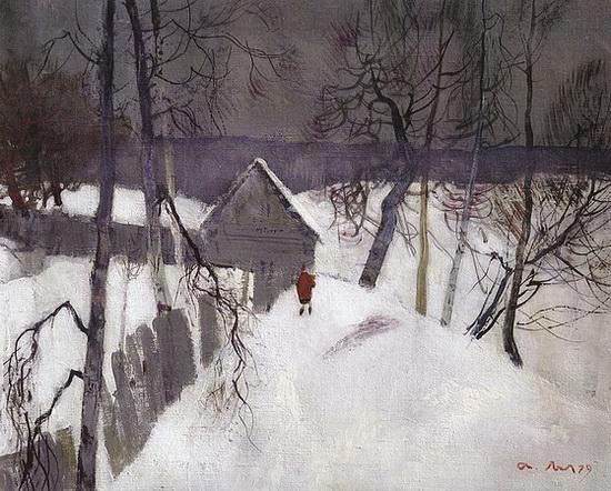 Мыльников -  Зима