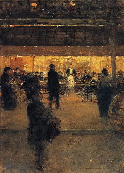Luigi Loir - The Night Cafe