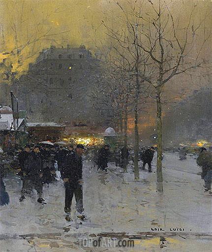 Luigi Loir - Paris Place des Ternes