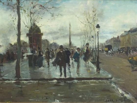 Luigi Loir - Paris QUAIS DE PARIS
