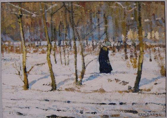 Пётр Иванович Холодный - Winter in the Forest