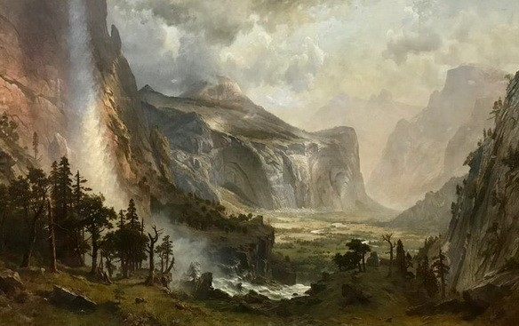 Albert Bierstadt - Domes of the Yosemite