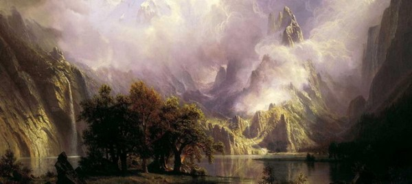 Albert Bierstadt - View of Rocky Mountains