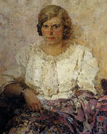 Котов - Портрет жены