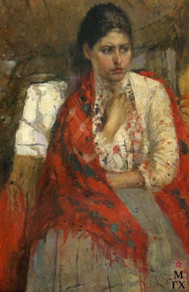 Котов - Портрет девушки