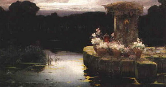 Enrique Serra y Auque - In the Pontine Marshes