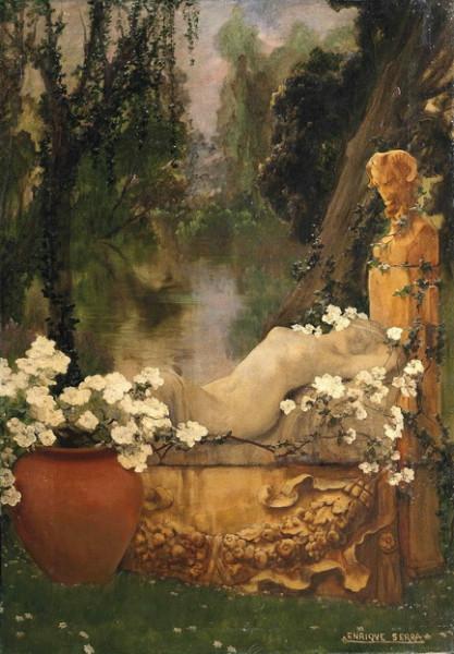 Enrique Serra y Auque - A classical garden 1