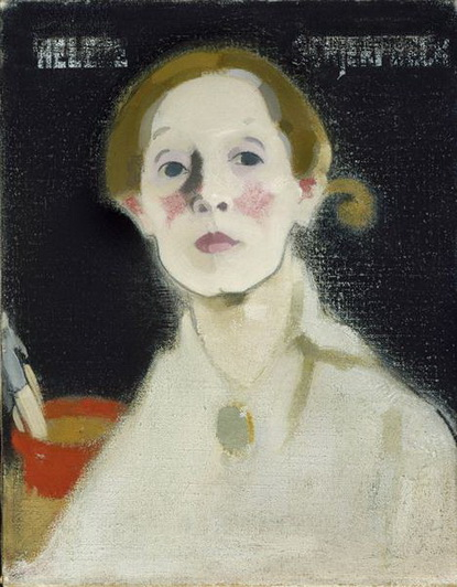 Helene Schjerfbeck - Self-portrait