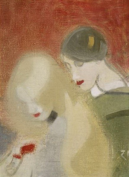Helene Schjerfbeck - The Family Heirloom