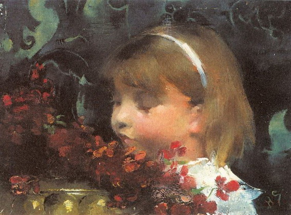Helene Schjerfbeck - Portrait of a Child