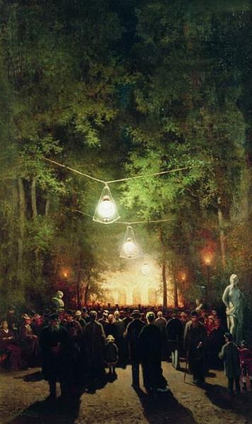 Волков - Гулянье в Летнем саду