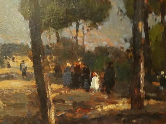 Lucien Frank - Au parc de l ouest