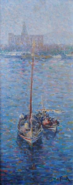 Lucien Frank - Harbour, Malaga