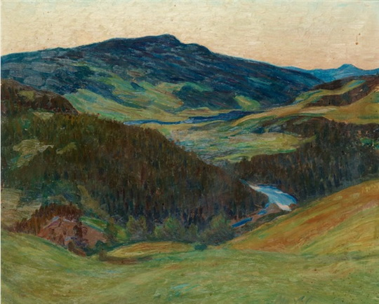 Richard  Bergh - Landscape