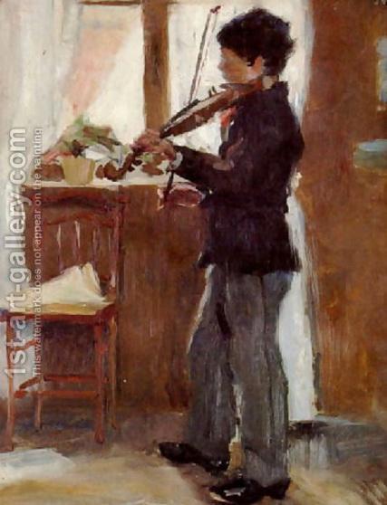 Richard  Bergh - скрипач