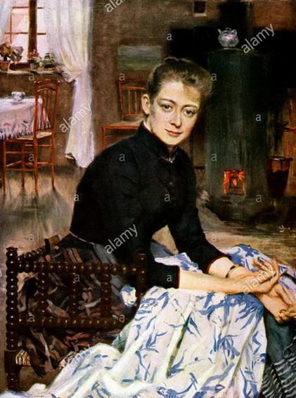 Richard  Bergh - Konstnaren's Wife