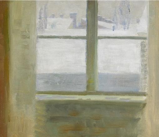 Richard  Bergh - Fonster mot vinterutsikt