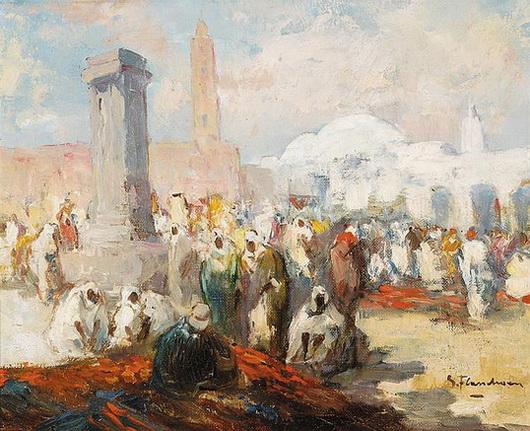 Gustave Flasschoen -Marche Nord-Africain