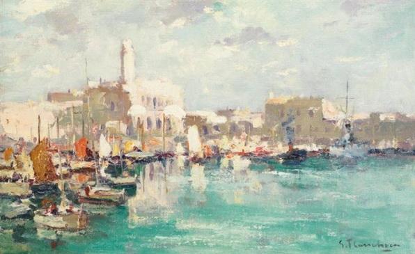 Gustave Flasschoen - L'amiraute d'Alger
