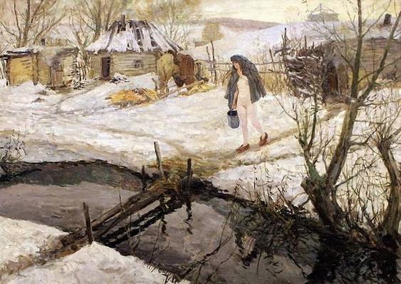 Аркадий Пластов - Суббота