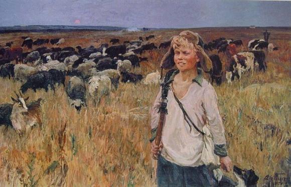 Аркадий Пластов - Витя-подпасок