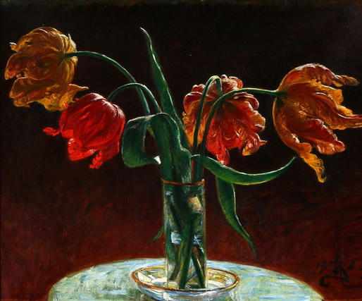 Kristian Zahrtmann - тюльпаны