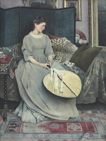 Thomas Cooper Gotch - The Year of the Rose