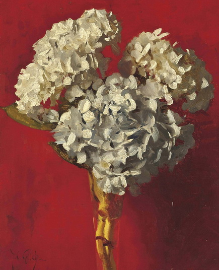 Thomas Cooper Gotch - Still life
