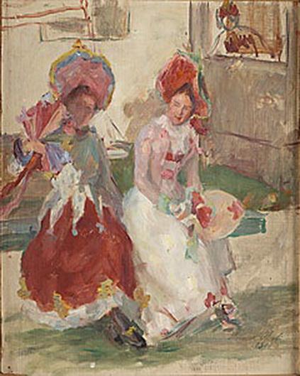 Hanna Pauli - Galanta damer konverserar
