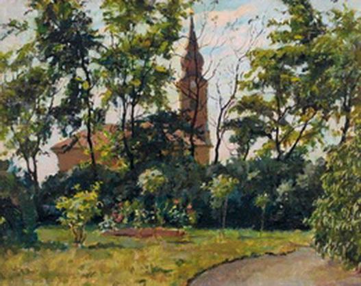 Bela Vidovszky - Templomkert