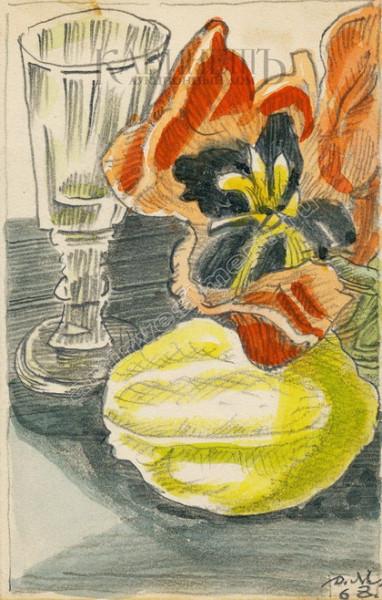 Митрохин - Рюмка  и лимон
