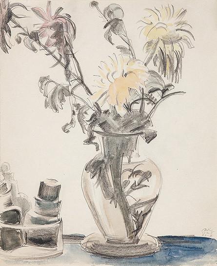 Митрохин - Натюрморт с цветами