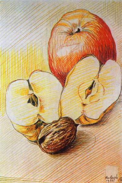 Митрохин - Орех и два яблока