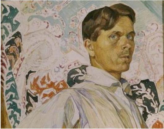 Michael Bobyshev - Автопортрет. 1919 г.
