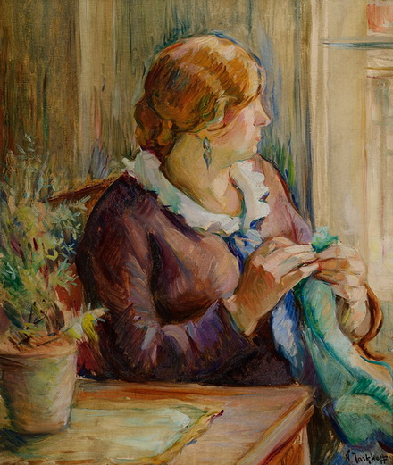 Nikolaj Tarhov - За вышиванием